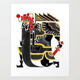 King Chu Art Print