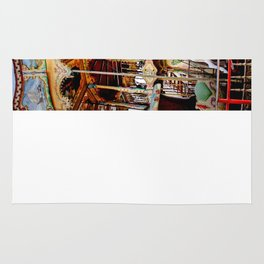 Double Decker Carnival Carousel Horse Rug