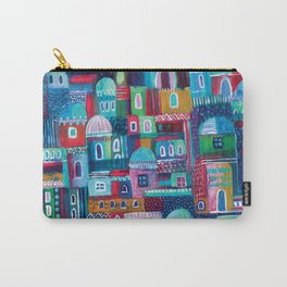 Mosaic City Carry-All Pouch