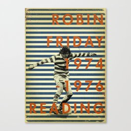 Reading - Friday Canvas Print
