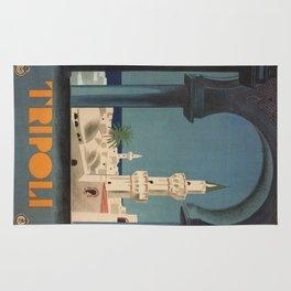 Vintage poster - Tripoli Rug