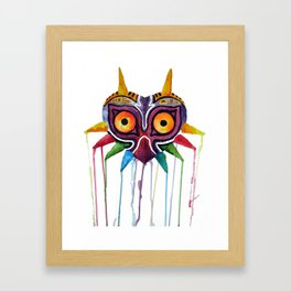 majoras mask Framed Art Print