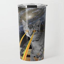 CAT ATTACK!  Travel Mug