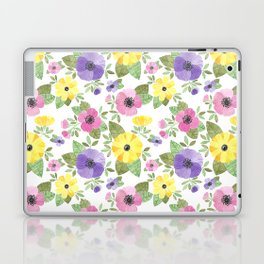 Spring Bouquet Watercolor Laptop & iPad Skin