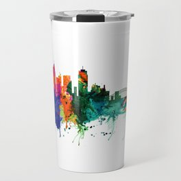 Sydney watercolor skyline Travel Mug