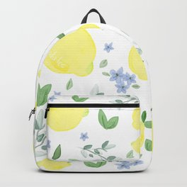 Fresh Lemon Serenade Backpack