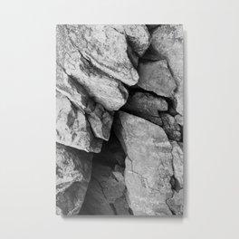 Cunningham Falls Rock Study 2 Metal Print