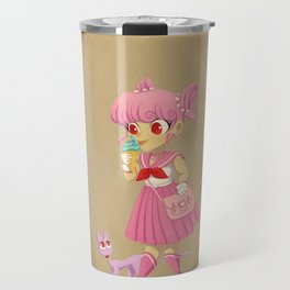 Retro Sailor Chibi Moon Travel Mug