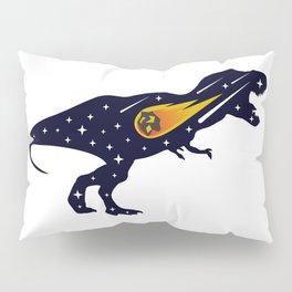 Dinosaur and meteorite strike #society6 #decor #buyart #artprint Pillow Sham