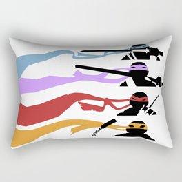 TMNT - Cutout Rectangular Pillow