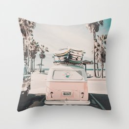 Summer Forever Throw Pillow