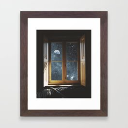 WINDOW TO THE UNIVERSE Framed Art Print