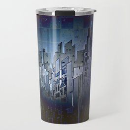 Walls in the Night - UFOs in the Sky Travel Mug