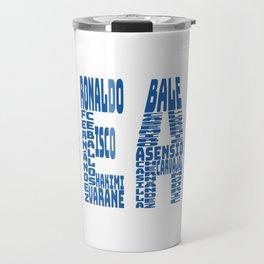 Real Madrid 2017-2018 Travel Mug