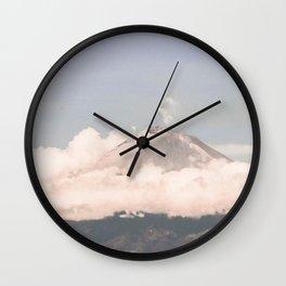 Breathe on high Wall Clock