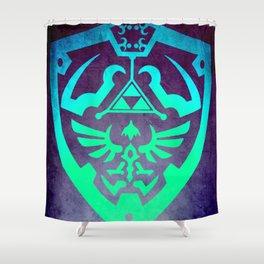 Zelda Shield Shower Curtain