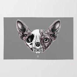 Shynx Half Skull Rug