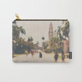 walking through Balboa Park in San Diego, California Carry-All Pouch