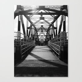 Bridge - Salford Quays Canvas Print