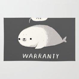 warranty void if seal is broken Rug