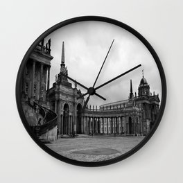 German Baroque Architechture Wall Clock