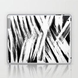 White brush Laptop & iPad Skin