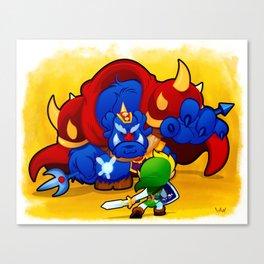 8-Bit Madnss Legend of Zelda Canvas Print