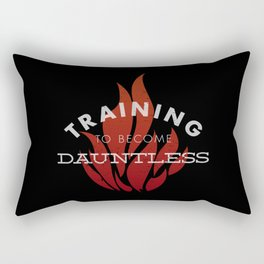 Training: Dauntless Rectangular Pillow