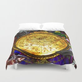 Astrolabe Our Place in the Universe Duvet Cover