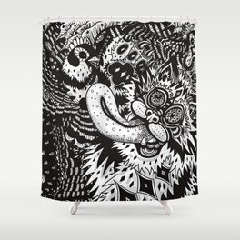 Domesticated (Afternoon in the Garden) Shower Curtain