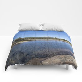 Tuolumne River and Meadows, No. 2 Comforters