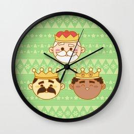 Three Wisemen Wall Clock