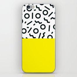 Memphis pattern 46 iPhone Skin