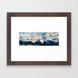 Tantalus Evenings Framed Art Print