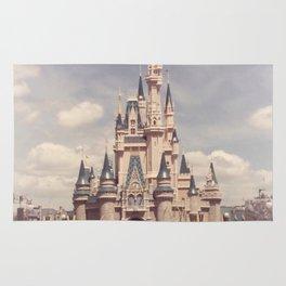 Magic Kingdom Cinderella Castle Rug