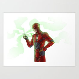 Power Ring of Sector 2814 Art Print