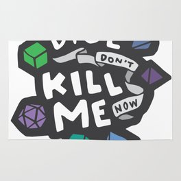 Dice Don't Kill Me Now - Ocean Rug
