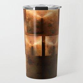 Rusted Pyramids Travel Mug