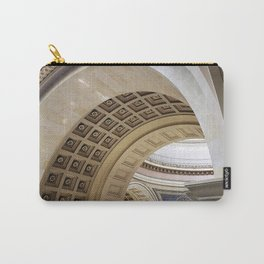 Wisconsin Capitol Building Arches And Angles Carry-All Pouch