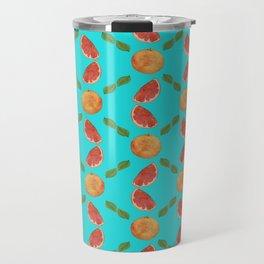 Grapefruit Shimmy Travel Mug