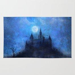 Mystical castle Rug