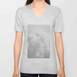 Whitewash Unisex V-Neck