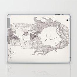 Kamala Khan - blustery days Laptop & iPad Skin
