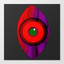 Tribal Shield ZK1-X17-T4 Canvas Print