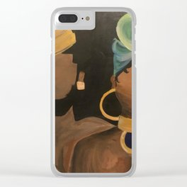 with love.. Clear iPhone Case