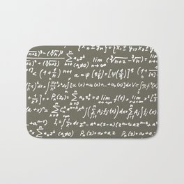 Math Bath Mat