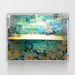 Floral Ocean Kaliedoscope Laptop & iPad Skin