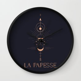 La Papesse or The High Priestess Tarot Wall Clock
