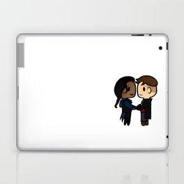 Inej x Kaz - Six of Crows / Crooked Kingdom (B) Laptop & iPad Skin