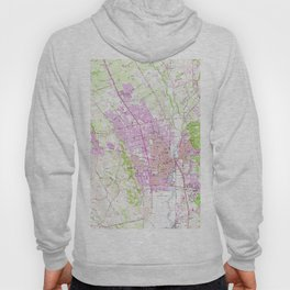 Vintage Map of Napa California (1951) Hoody